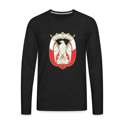 Abu Dhabi Gold LOGO - Men's Premium Long Sleeve T-Shirt