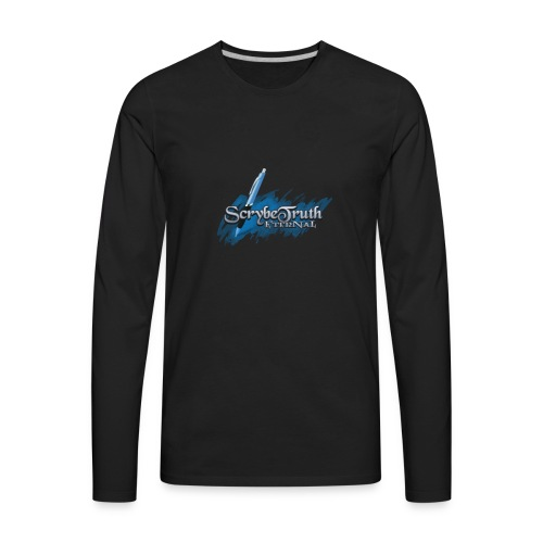 Scrybetruth PenLyfeStyle - Men's Premium Long Sleeve T-Shirt