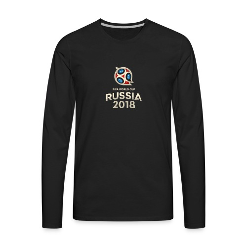 Football Cup - Men's Premium Long Sleeve T-Shirt