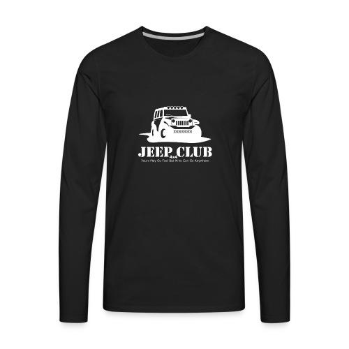 Jeep 4x4 Club - Men's Premium Long Sleeve T-Shirt