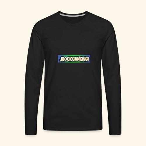 JrockGameing1 logo - Men's Premium Long Sleeve T-Shirt