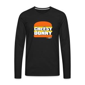 Cheesy Donny - Men's Premium Long Sleeve T-Shirt