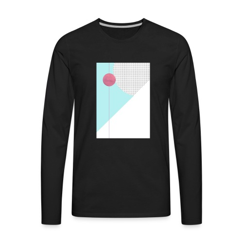 Retro Mars! - Men's Premium Long Sleeve T-Shirt