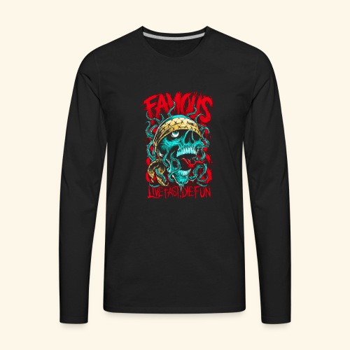 Live Fast Die Fun - Men's Premium Long Sleeve T-Shirt