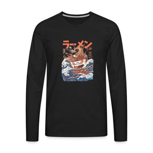 best ramen kanagawa - Men's Premium Long Sleeve T-Shirt