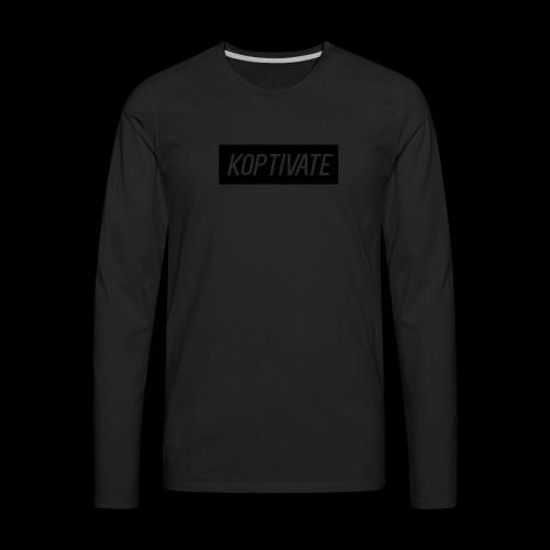 KoptivateBoxLogo - Men's Premium Long Sleeve T-Shirt