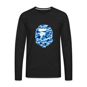 Bape snapceleb collab - Men's Premium Long Sleeve T-Shirt