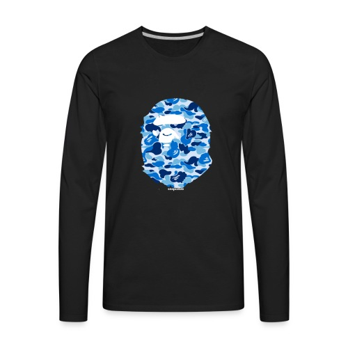 Bape snapceleb collab - Men's Premium Long Sleeve T-Shirt