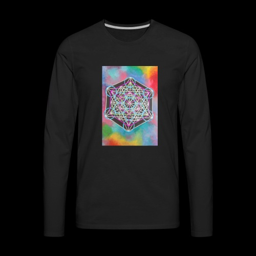 The Cube - Men's Premium Long Sleeve T-Shirt