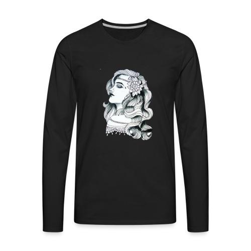Woman fresh - Men's Premium Long Sleeve T-Shirt