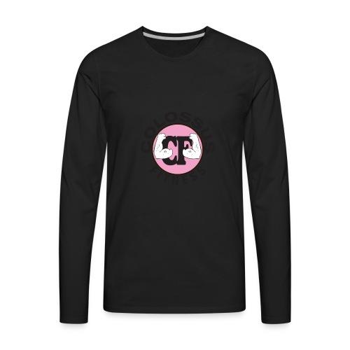 CF-logo-pink - Men's Premium Long Sleeve T-Shirt