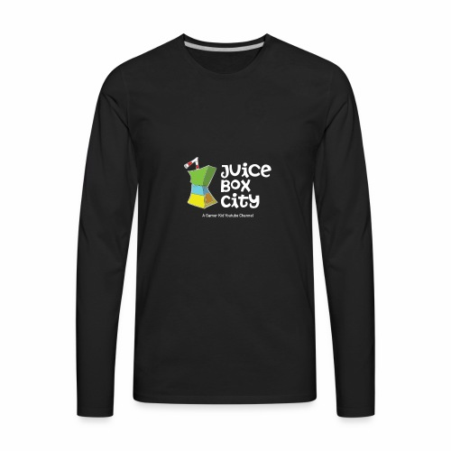 JUICE BOX CITYYY! - Men's Premium Long Sleeve T-Shirt