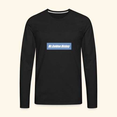 Golden Merch - Men's Premium Long Sleeve T-Shirt