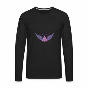 Illuminati Angle style - Men's Premium Long Sleeve T-Shirt