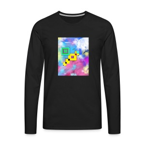 Cosmic Bee - Men's Premium Long Sleeve T-Shirt