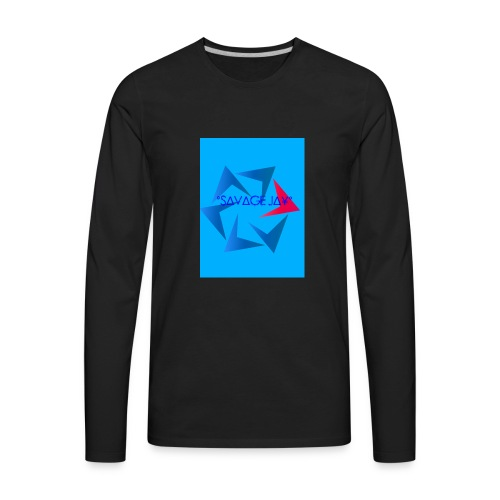 SAVAGE MERCH - Men's Premium Long Sleeve T-Shirt