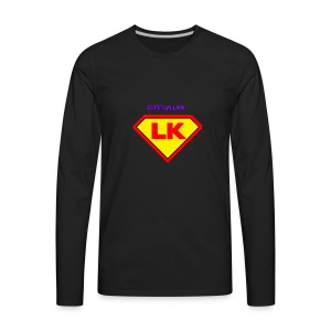 Supervillain by Lil Kodak - Men's Premium Long Sleeve T-Shirt