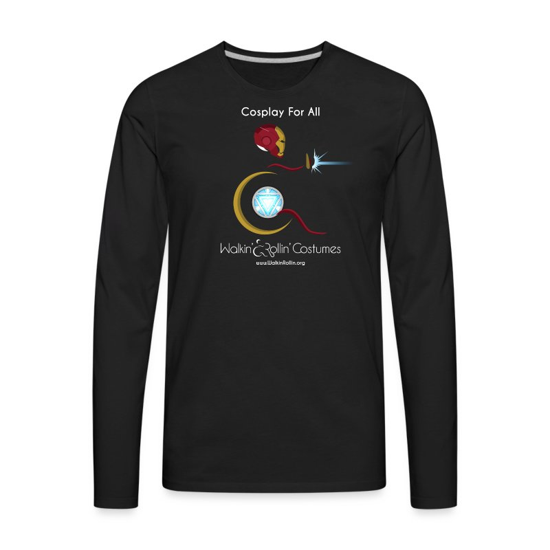 Cosplay For All: IronMan - Men's Premium Long Sleeve T-Shirt
