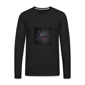 NWmaniac LOGO - Men's Premium Long Sleeve T-Shirt