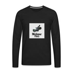 Molique Films Logo - Men's Premium Long Sleeve T-Shirt