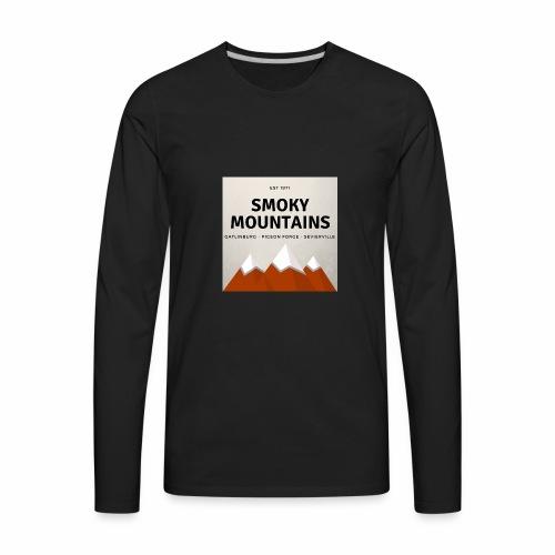 Smoky Mountains - Men's Premium Long Sleeve T-Shirt