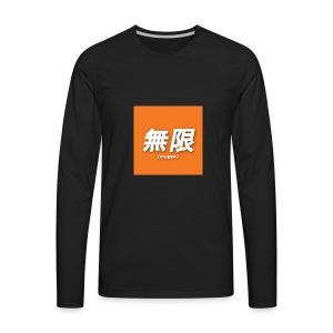 mugen logo - Men's Premium Long Sleeve T-Shirt