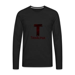 Trix Alpha - Men's Premium Long Sleeve T-Shirt