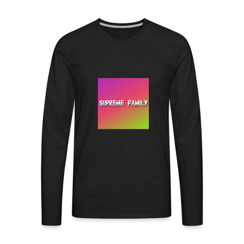 Supreme Family - Men's Premium Long Sleeve T-Shirt