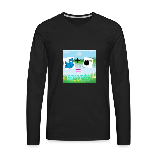 merchandise logo - Men's Premium Long Sleeve T-Shirt