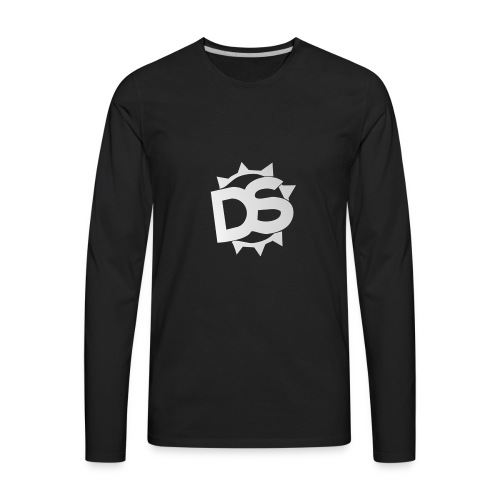 Depth Logo - Men's Premium Long Sleeve T-Shirt