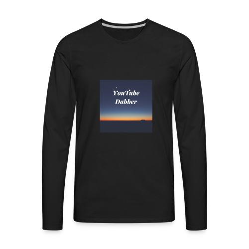 YouTube Dabber - Men's Premium Long Sleeve T-Shirt