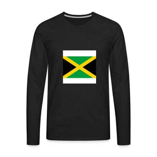 Jamaican Sunshine - Men's Premium Long Sleeve T-Shirt