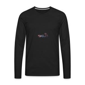 KingJG Galaxy Shirt - Men's Premium Long Sleeve T-Shirt