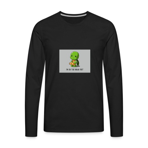 Ninja Diet - Men's Premium Long Sleeve T-Shirt