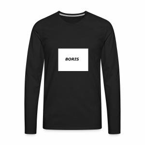 Boris merch - Men's Premium Long Sleeve T-Shirt