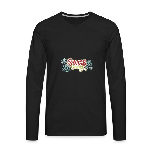 yay - Men's Premium Long Sleeve T-Shirt