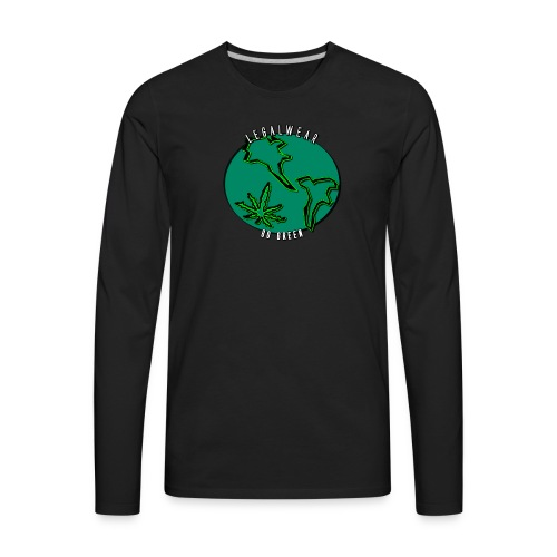 The EARTH is flat?! - Men's Premium Long Sleeve T-Shirt