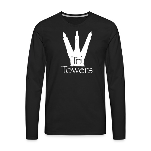 Official TriTowers Logo - Men's Premium Long Sleeve T-Shirt