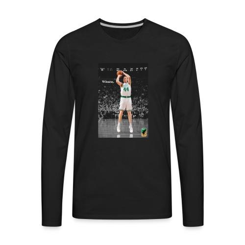 WITNESS: Brian Scalabrine - Men's Premium Long Sleeve T-Shirt