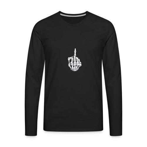 Skeleton Hand - Men's Premium Long Sleeve T-Shirt