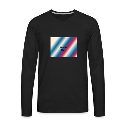 lumpzplaz D1 - Men's Premium Long Sleeve T-Shirt
