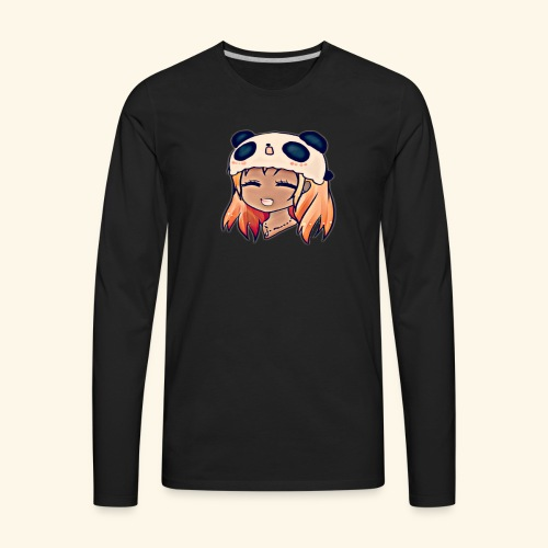 Zoe Candies Logo - Men's Premium Long Sleeve T-Shirt