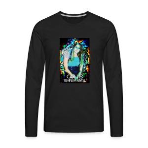 Carli Is TemperMental - Men's Premium Long Sleeve T-Shirt