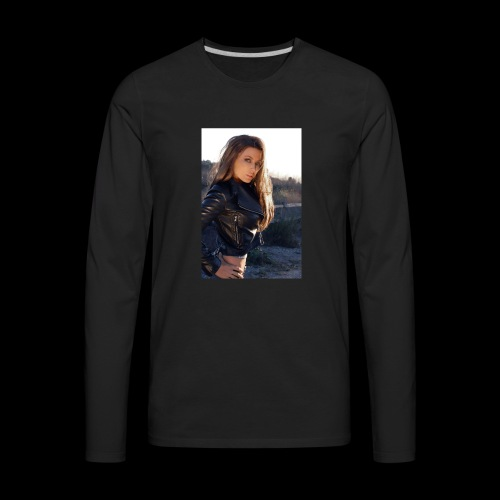 Rebecca Grant tuff and sexy - Men's Premium Long Sleeve T-Shirt