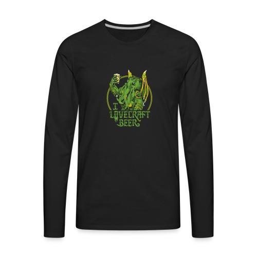 I LOVECRAFT BEER - Men's Premium Long Sleeve T-Shirt