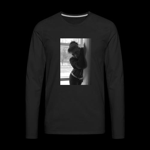 Peachy model - Men's Premium Long Sleeve T-Shirt