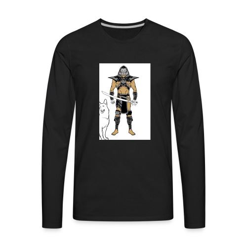 ninja 2 - Men's Premium Long Sleeve T-Shirt