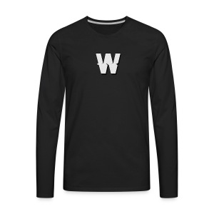 Wumzified Official Logo - Men's Premium Long Sleeve T-Shirt