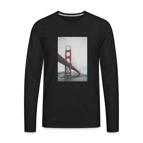Golden Gate Bridge - Men's Premium Long Sleeve T-Shirt
