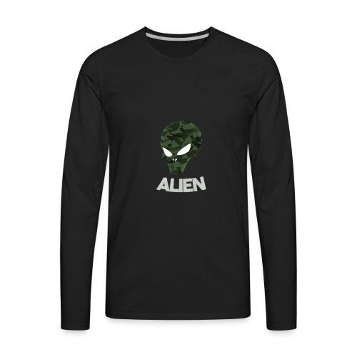 Military Alien - Men's Premium Long Sleeve T-Shirt